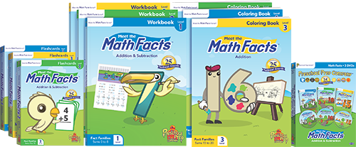 Meet the Math Facts Pack