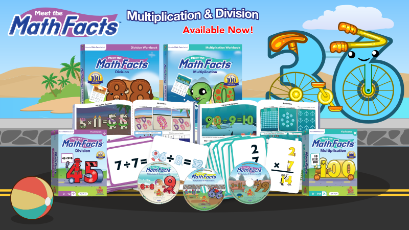 Multiplication & Division available now!