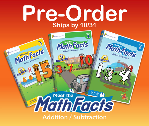PREORDER Meet the Math Facts