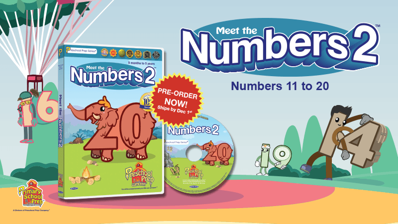Meeet the Numbers 2: Pre-Order Now!
