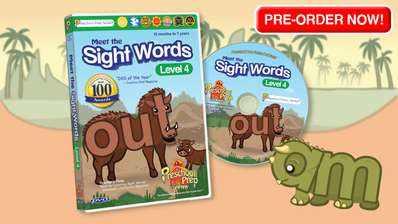 Meet the Sight Words 4 - Available Now!