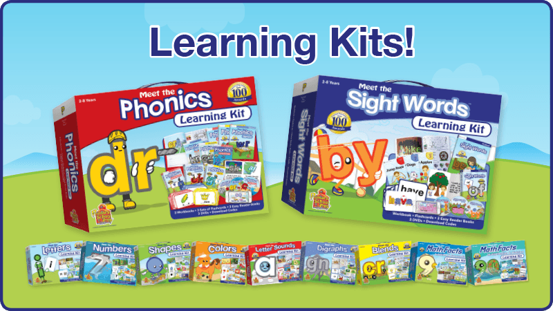 New! Learning Kits available now!