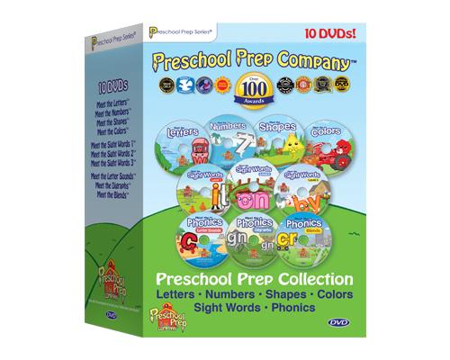 Preschool Prep 10 Pack