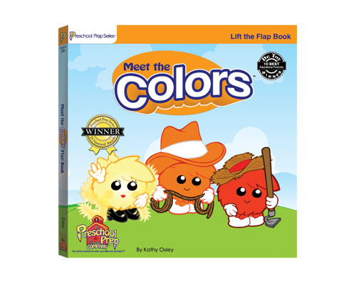 meet the colors lift the flap board book children - Preschool Books About Colors