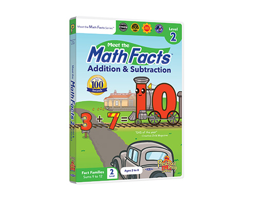 Meet the Math Facts Addition & Subtraction Level 2 DVD