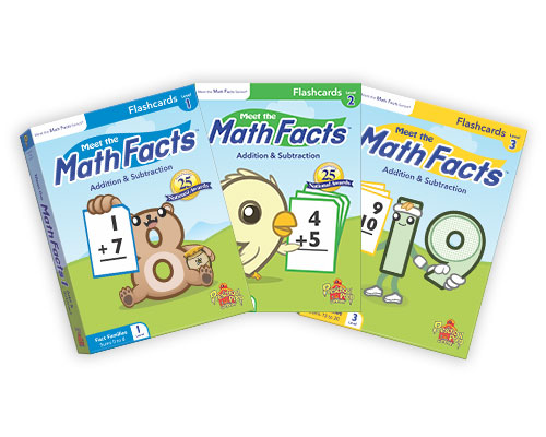 Meet the Math Facts Flashcards Pack