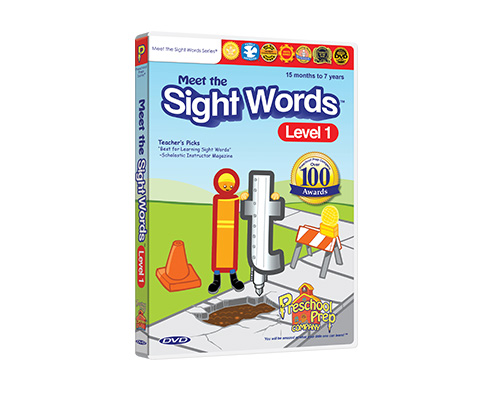 Meet the Sight Words 1 - DVD