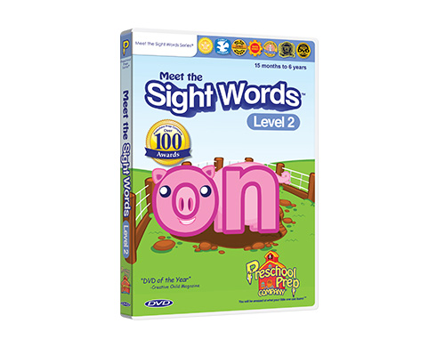 Meet the Sight Words 2 - DVD