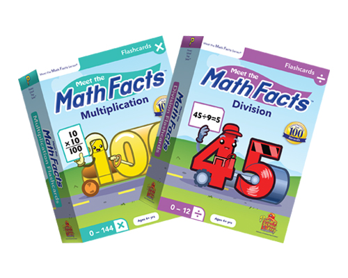 Math Facts Multiplication & Division Flashcards Set (2)
