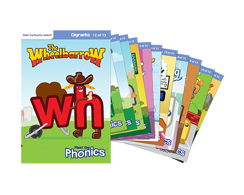 Meet the Phonics Easy Reader Books - Digraphs