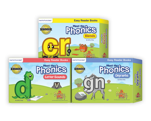 Phonics Easy Readers Book Pack