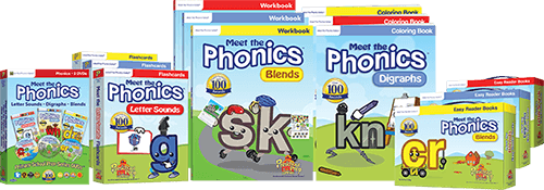 Meet the Phonics Prep Pack