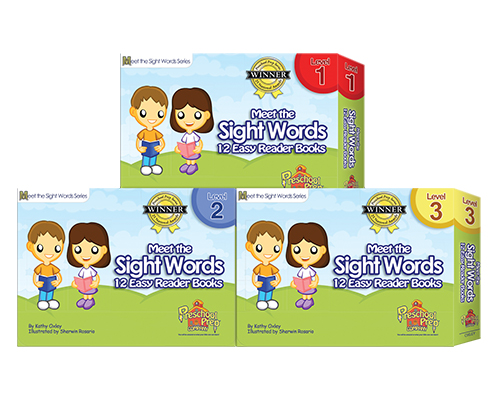 Sight Words Easy Readers Book Set