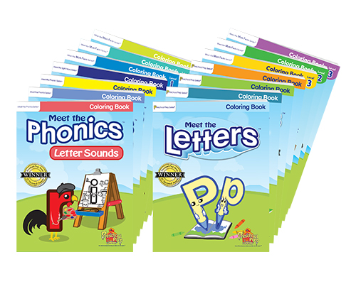 Coloring Books 11 Pack - All 11 Coloring Books