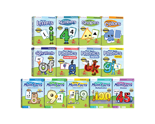 Flashcards 13 Pack - All 13 Flashcard Sets