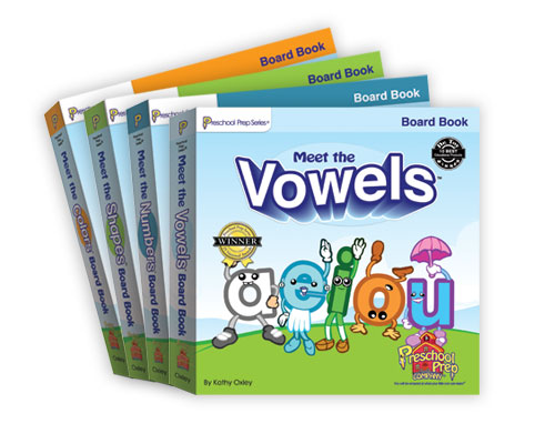 Board Book Pack (4 board books)
