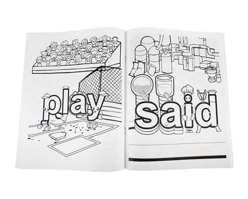 - Meet The Sight Words - Coloring Book
