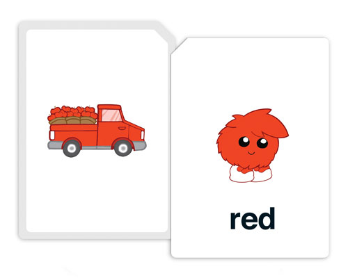 meet the colors flashcards