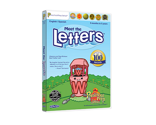 Meet the Letters - DVD