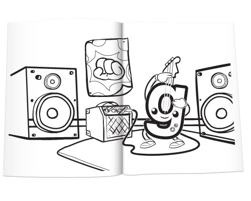 Meet the Phonics - Letter Sounds Coloring Book