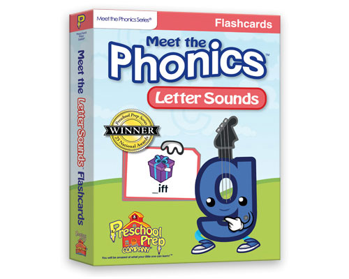 Meet the Phonics - Letter Sounds Flashcards