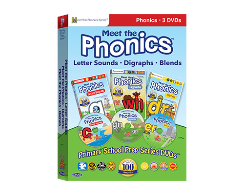 Meet the Phonics Collection (DVDs)