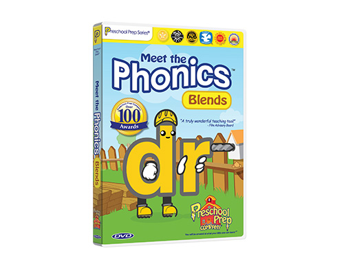 Meet the Phonics - Blends DVD