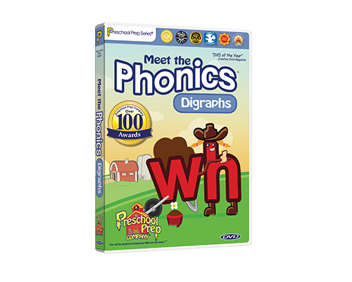 Meet the Phonics - Digraphs DVD