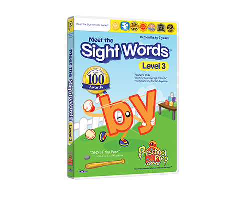 Meet the Sight Words 3 - DVD