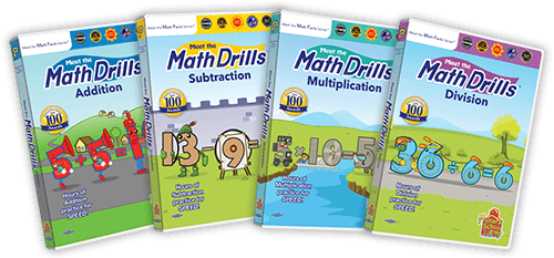 Meet the Math Drills 4 Pack